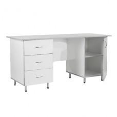 Стол для кабинета врача 2-х тумбовый СКВ-Л-02