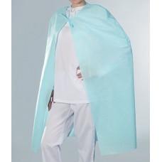 Накидка для пациента нестерильная, 1600х1100, пл25г/м2, голубая