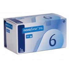 Иглы НовоФайн 31G (6мм) / 30G (8мм) (NovoFine)